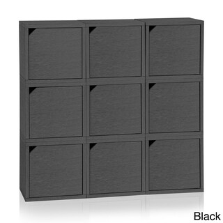 Celina Eco Stackable 9 Cube with Doors by Way Basics LIFETIME GUARANTEE