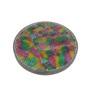 FireFly Multicolor Glass Stepping Stone