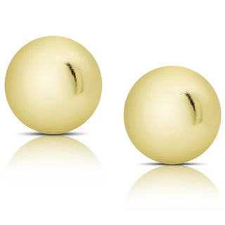 Molly and Emma 14K Gold Ball Stud Earrings