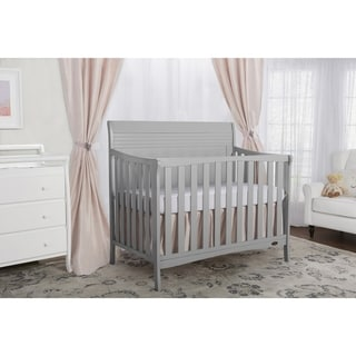 Dream On Me Bailey 5-in-1 Dove Grey Convertible Crib