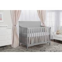 Dream On Me Bailey Dove Grey 5-in-1 Convertible Crib