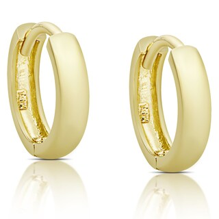 Molly and Emma 14K Gold Hoop Earrings