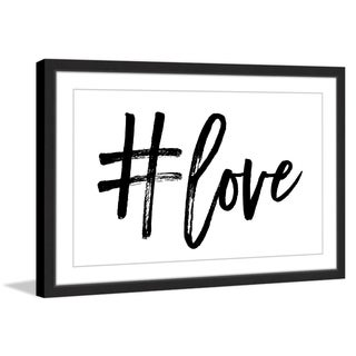 Marmont Hill - 'Love' by Shayna Pitch Framed Painting Print