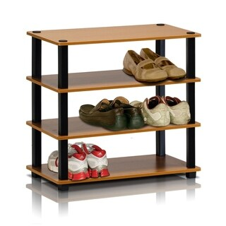 Furinno 13081 Turn-S-Tube 4-Tier Shoe Rack