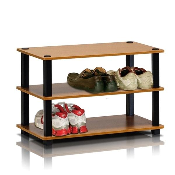 Porch & Den Brennan 3-tier Shoe Rack