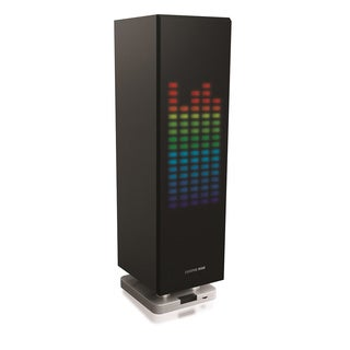 Sharper Image Mini-Tower Bluetooth Speaker w/ LED Lights
