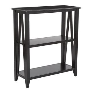 Santa Cruz Black 3-Shelf Bookcase|https://ak1.ostkcdn.com/images/products/13558872/P20236105.jpg?impolicy=medium