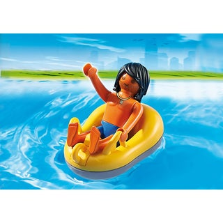 PLAYMOBIL PM6676 6676 River-rafting Tube with Figure