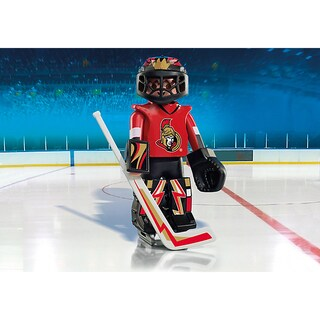 Playmobil PM9018 NHL Ottawa Senators Goalie