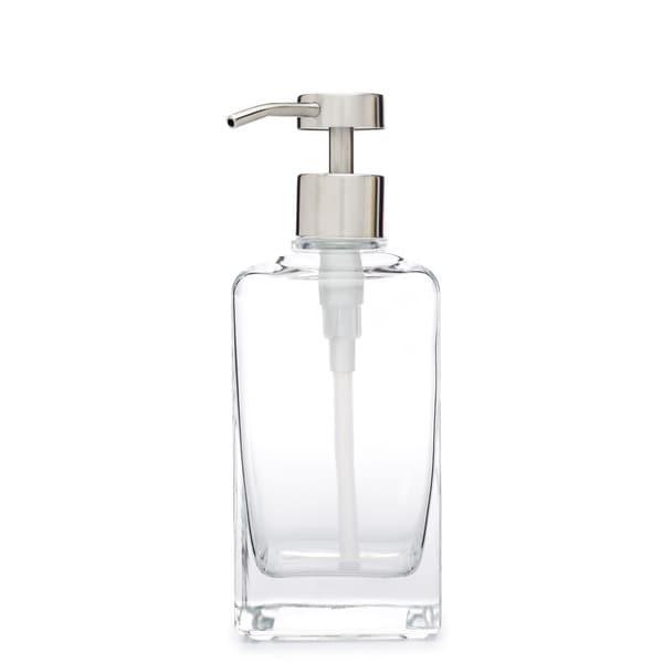 RAIL19 Casa Glass Soap Dispenser w/ Fuente Pump