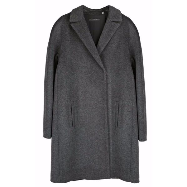 2bd35c4dd0beb Shop Elie Tahari Women s Louisa Charcoal Grey Wool XL Plus-size Coat - Free  Shipping Today - Overstock - 13562596