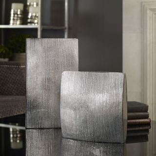 Uttermost Darla Aluminum Vases (Set of 2)