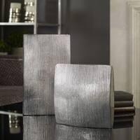 Uttermost Darla Aluminum Vases (Set of 2)