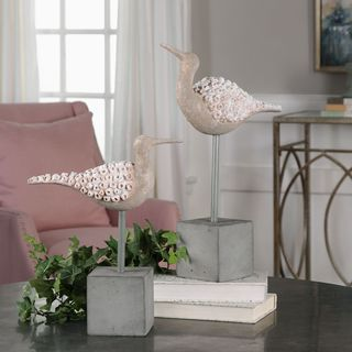 Uttermost Shore Birds Sculpture (Set of 2)
