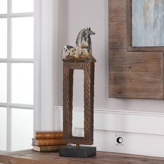 Uttermost Addie Horse Sculpture