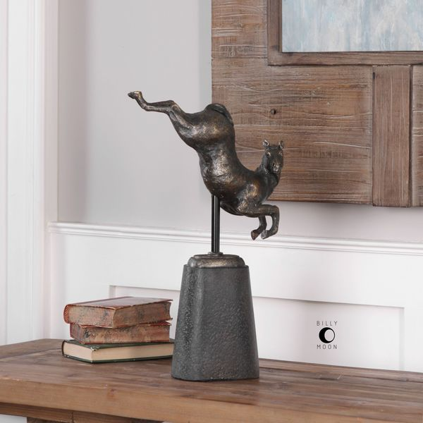 Uttermost Boris Horse Sculpture