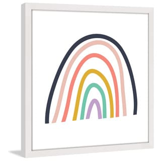 Marmont Hill - 'Rainbow' by Shayna Pitch Framed Painting Print