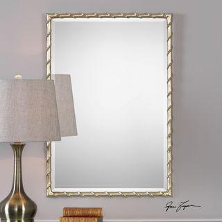 Uttermost Laden Silver Mirror