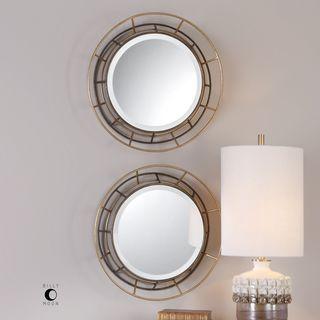 Uttermost Desario Round Mirrors (Set of 2)
