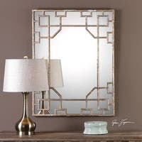 Uttermost Genji Antique Mirror