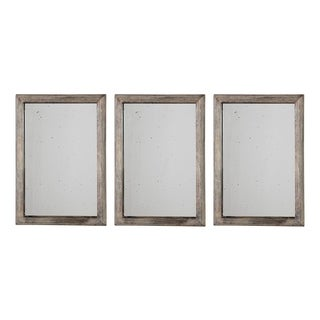Uttermost Alcona Antiqued Silver Mirrors (Set of 3)