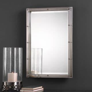 Uttermost Manning Brushed Nickel Mirror - 22.5x32x1.5