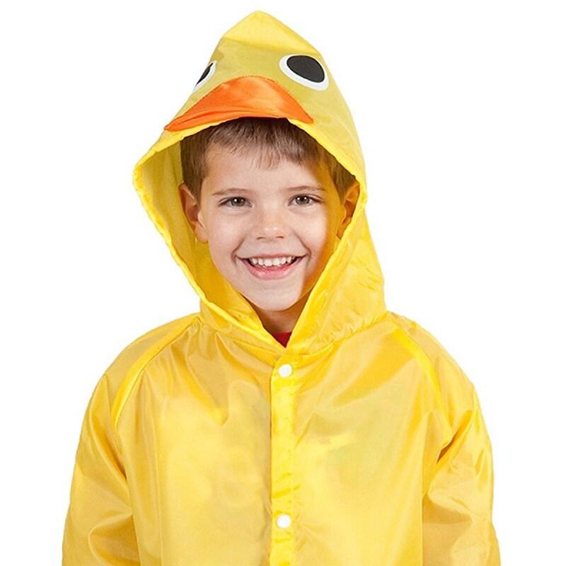 Unisex Children's Green Frog/Red Ladybug/Yellow Duck Rain...