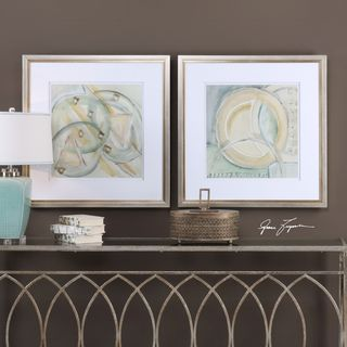 Uttermost Abstracts Framed Prints (Set of 2)