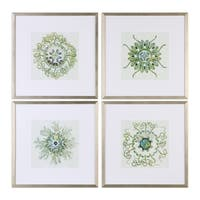 Uttermost Organic Symbols Print Art (Set of 4)
