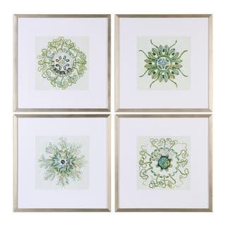 Uttermost Organic Symbols Print Art (Set of 4)