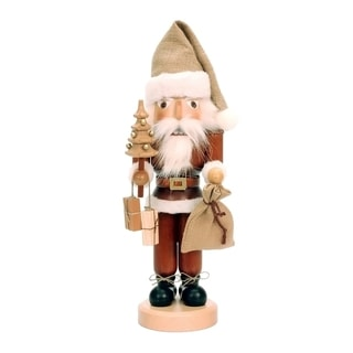 Christian Ulbricht Natural Wood Santa Nutcracker