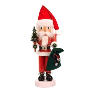Christian Ulbricht Santa Multicolor Wood Nutcracker