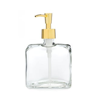 RAIL19 Urban Glass Soap Dispenser w/ Gold Pump