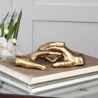 Uttermost Hold My Hand Gold Sculpture|https://ak1.ostkcdn.com/images/products/13565296/P20240714.jpg?impolicy=medium