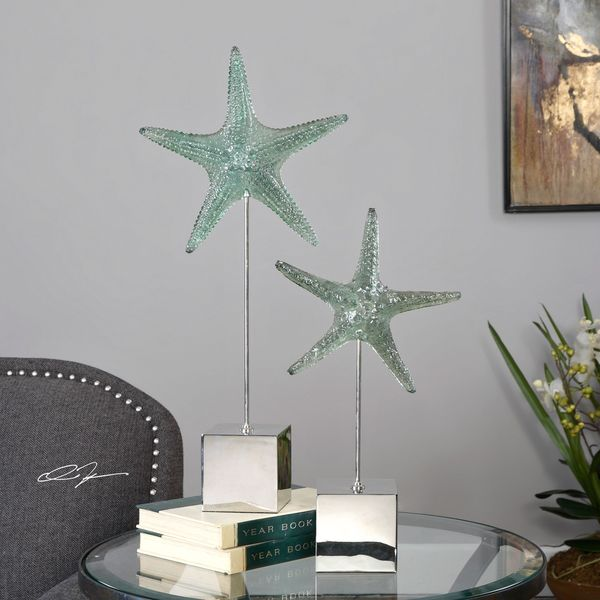 Uttermost Starfish Sculpture (Set of 2)