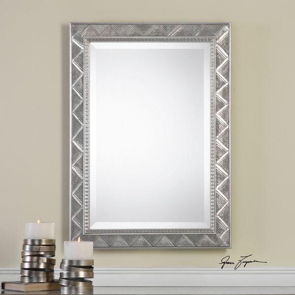 Uttermost Ioway Metallic Silver Mirror - 23.5x33.5x1.25