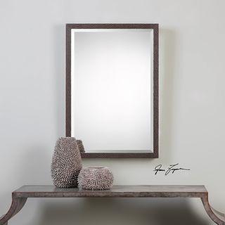 Uttermost Michaela Brazilian Oak Mirror