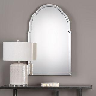 Uttermost Brayden Frameless Arched Mirror