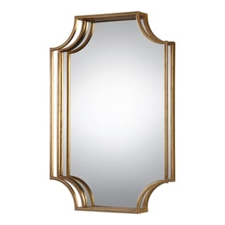 Uttermost Lindee Gold Wall Mirror - Antique Silver - 20x29.75x3
