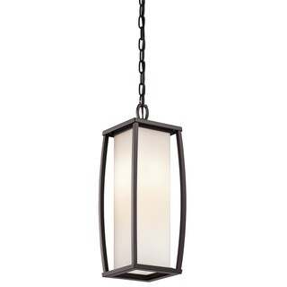 Kichler Lighting Bowen Collection 2-light Architectural Bronze Outdoor Pendant