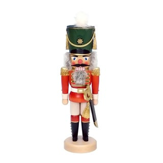 Christian Ulbricht Hand-painted Soldier Multicolor Wood Nutcracker