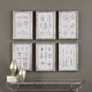 Uttermost Architectural Accents Prints (Set of 6)