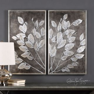 Uttermost Money Tree Framed Art (Set of 2)