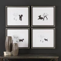 Uttermost Perfect Companions Canine Prints (Set of 4)
