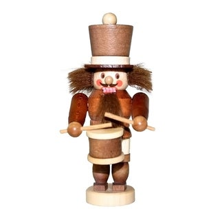 Christian Ulbricht Wood Miniature Drummer Nutcracker