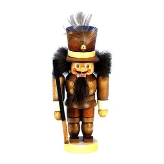 Christian Ulbricht Natural Wood Finish Miniature Soldier Nutcracker