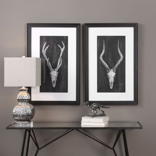 Uttermost Rustic European Mounts Prints (Set of 2)