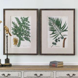 Uttermost Vintage Tropicals Floral Prints (Set of 2)
