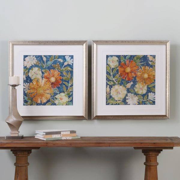 Uttermost April Flowers Prints (Set of 2)