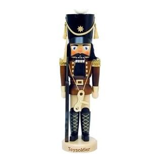 Christian Ulbricht Wood Toy Soldier Mini Nutcracker